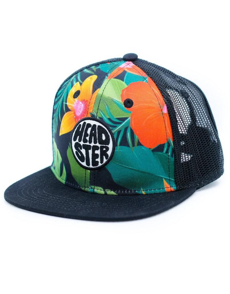 Headster Wild Hibiscus Trucker Hat