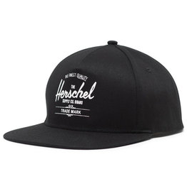 Herschel Twill Whaler Adult Hat - Black