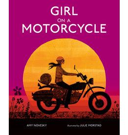 Random House Girl on a Motorcycle