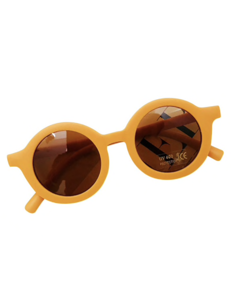 Hip Round Sunglasses - Golden
