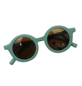Hip Round Sunglasses - Forest