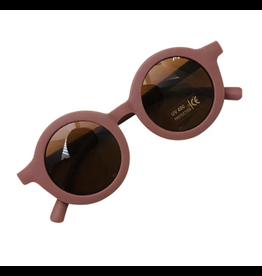 Hip Round Sunglasses - Clay
