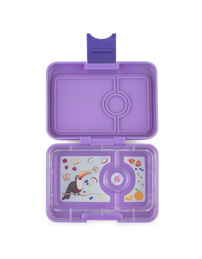 Mini Snack - 3 Compartment Dreamy Purple