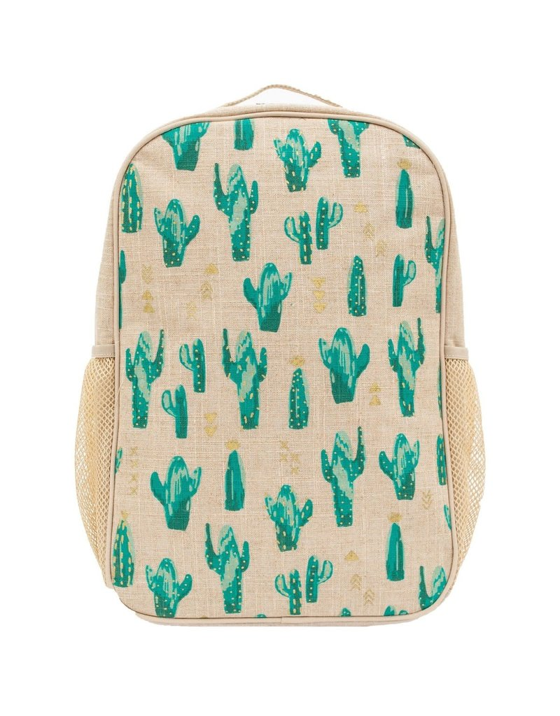 So Young Cacti Desert Grade School Backpack