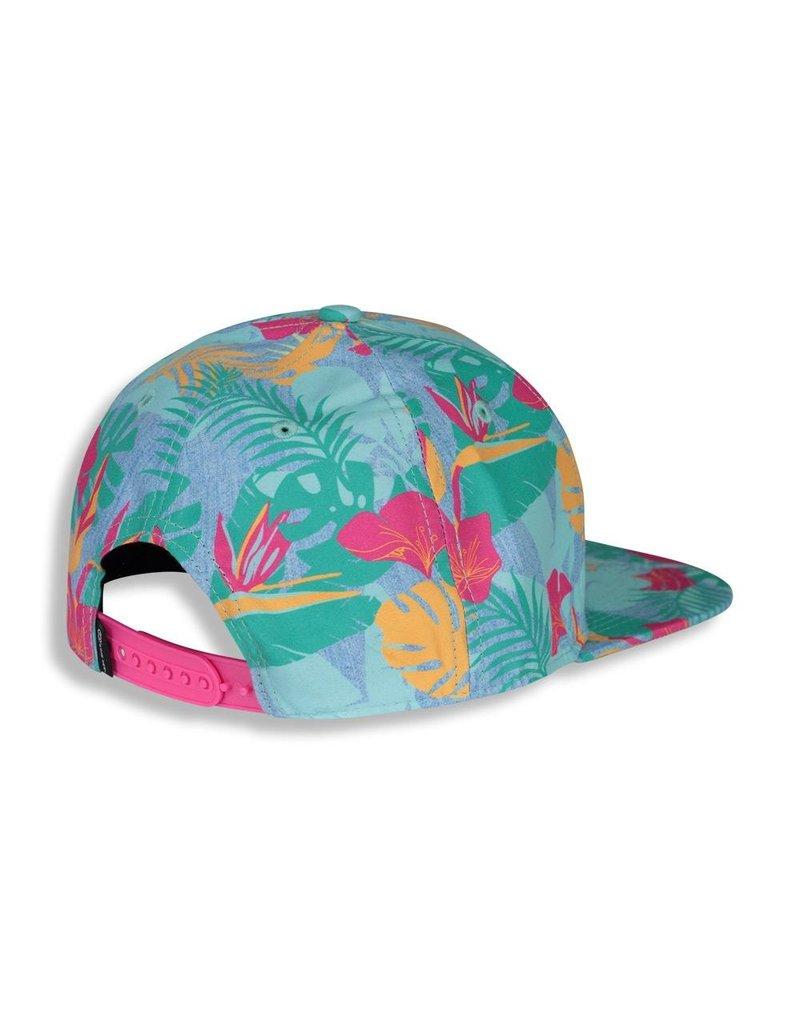 Birdz Pink Jungle Baseball Hat
