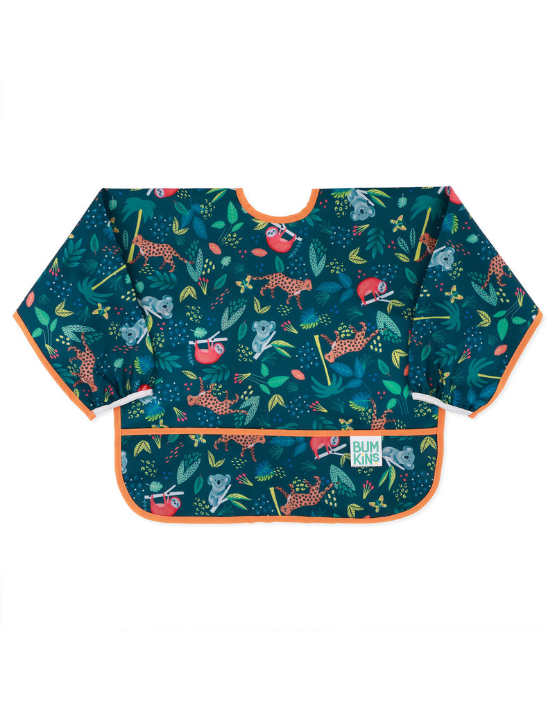 Sleeved Bib - Jungle