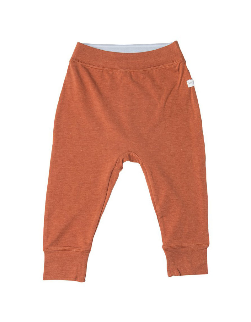 Loulou Lollipop Baby Pants in TENCEL™ - Umbra