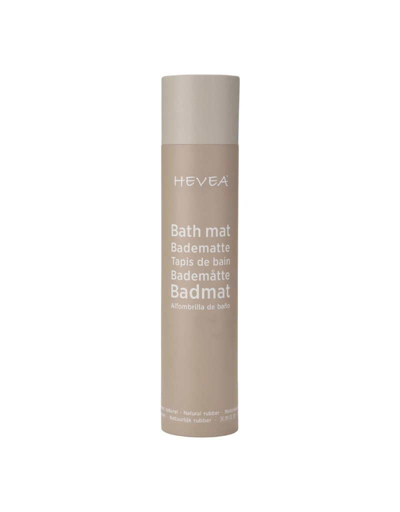 Hevea Extra Long Natural Rubber Bath Mat - Marble