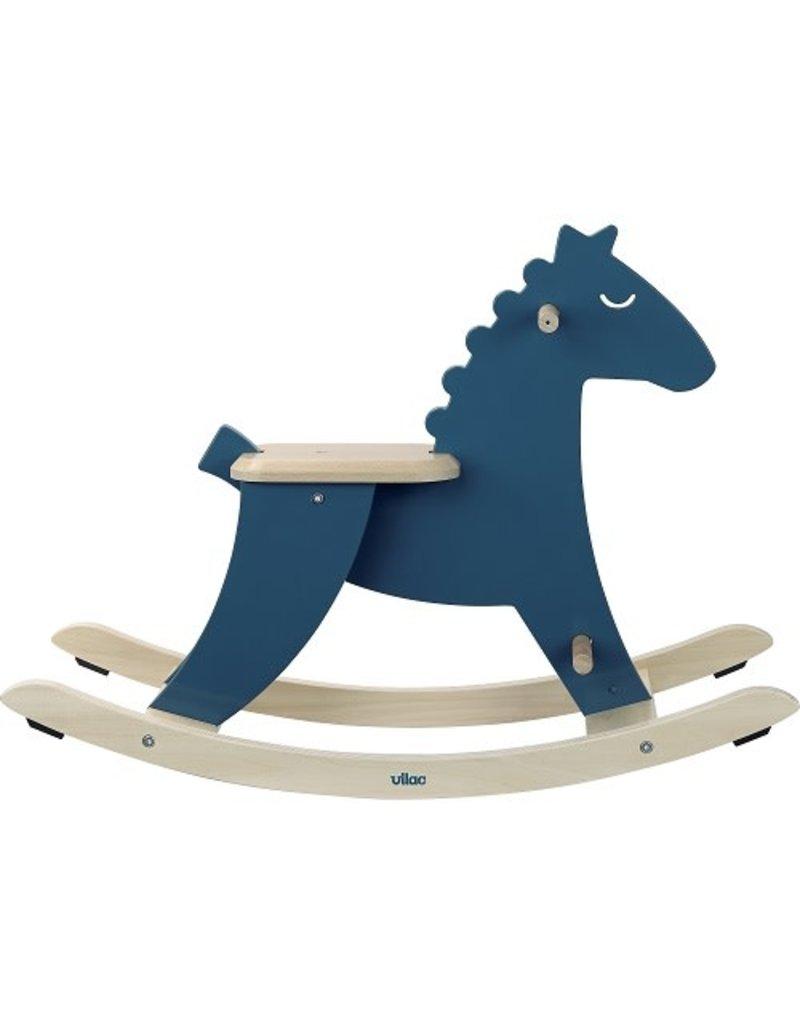 Rocking Horse, Dark Blue