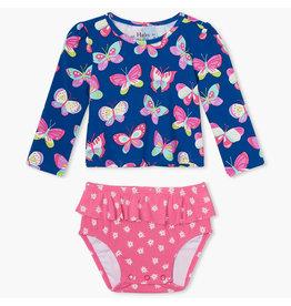 Hatley Bright Butterflies Baby UV Set