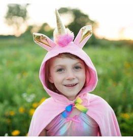 Great Pretenders Unicorn Toddler Cape, Pink, 2-3T