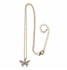 Great Pretenders Butterfly Gem Necklace