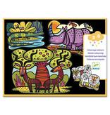 Djeco Colouring - Animals Of The Savannah
