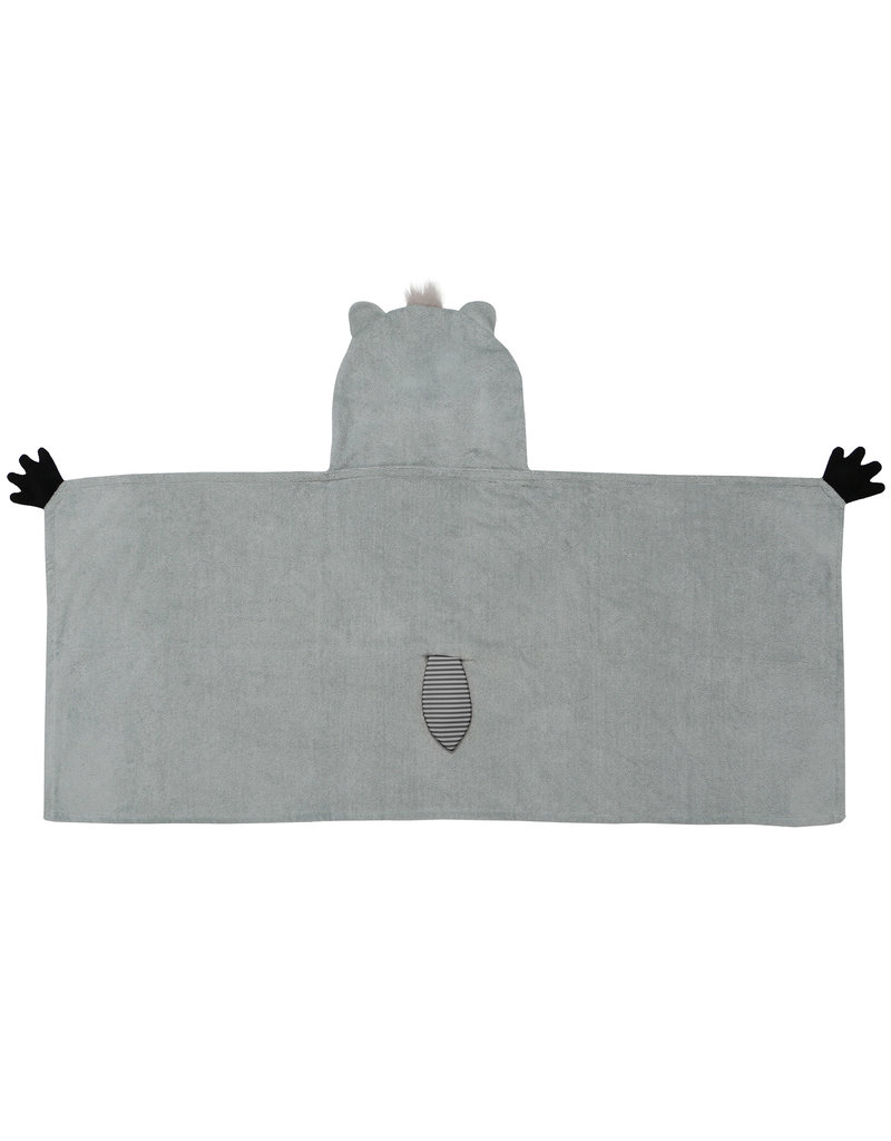 Zoocchini Zoocchini Hooded Rocco Raccoon  Towel