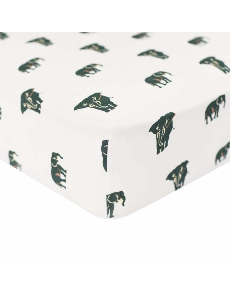Kyte Baby Bamboo Crib Sheets - Elephant