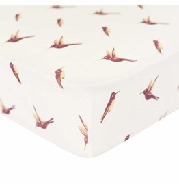 Kyte Baby Bamboo Crib Sheets - Hummingbird