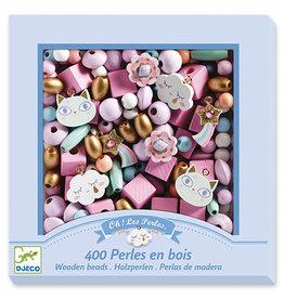 Djeco Wooden Beads - Rainbow