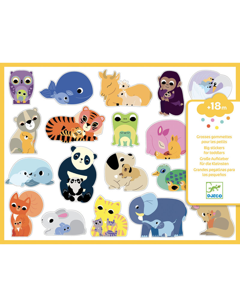 Djeco Stickers - Mums And Babies