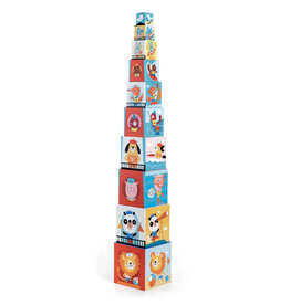 Djeco Stacking Cubes - Beach
