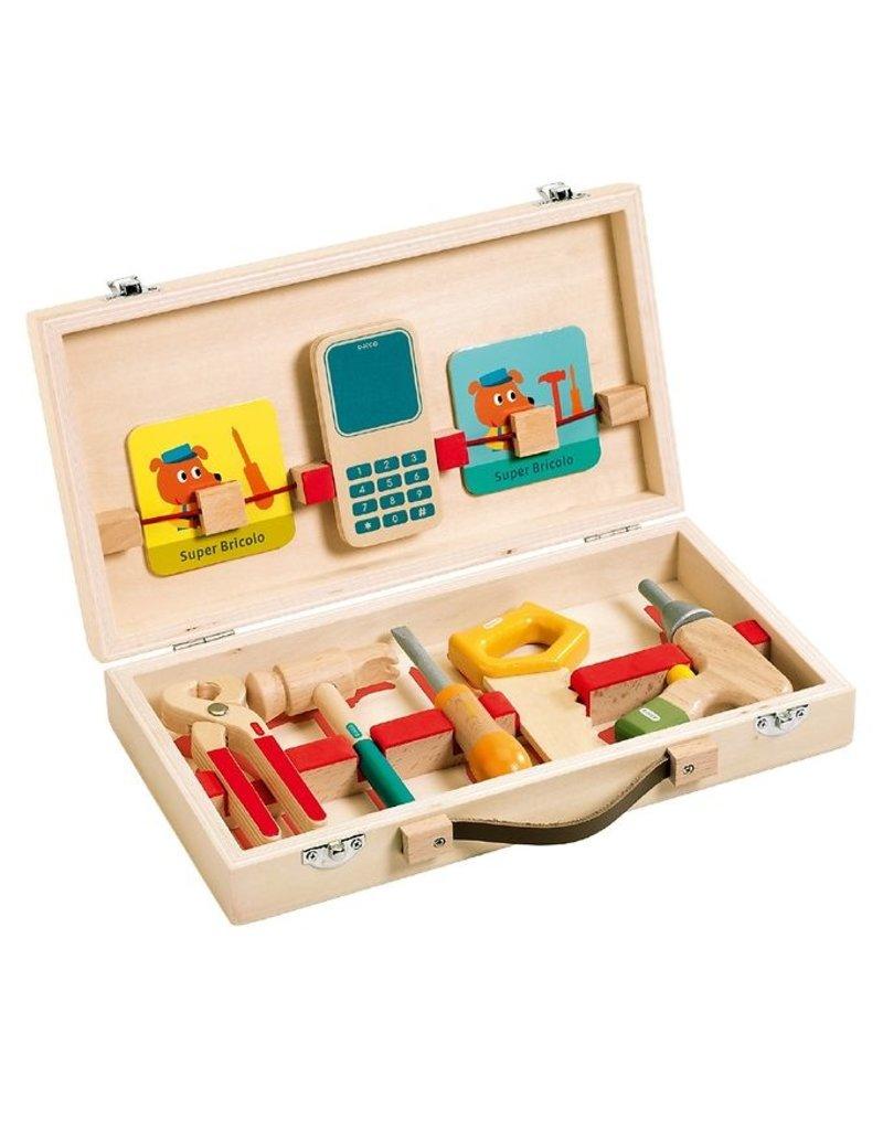 Djeco Super Bricolo  Construction Kit