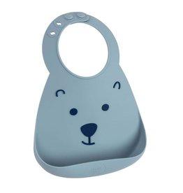 Make My Day Silicone Bib, Ready Teddy, Bear