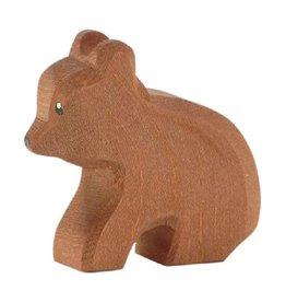 Ostheimer Wooden Toys Bear Small Sitting