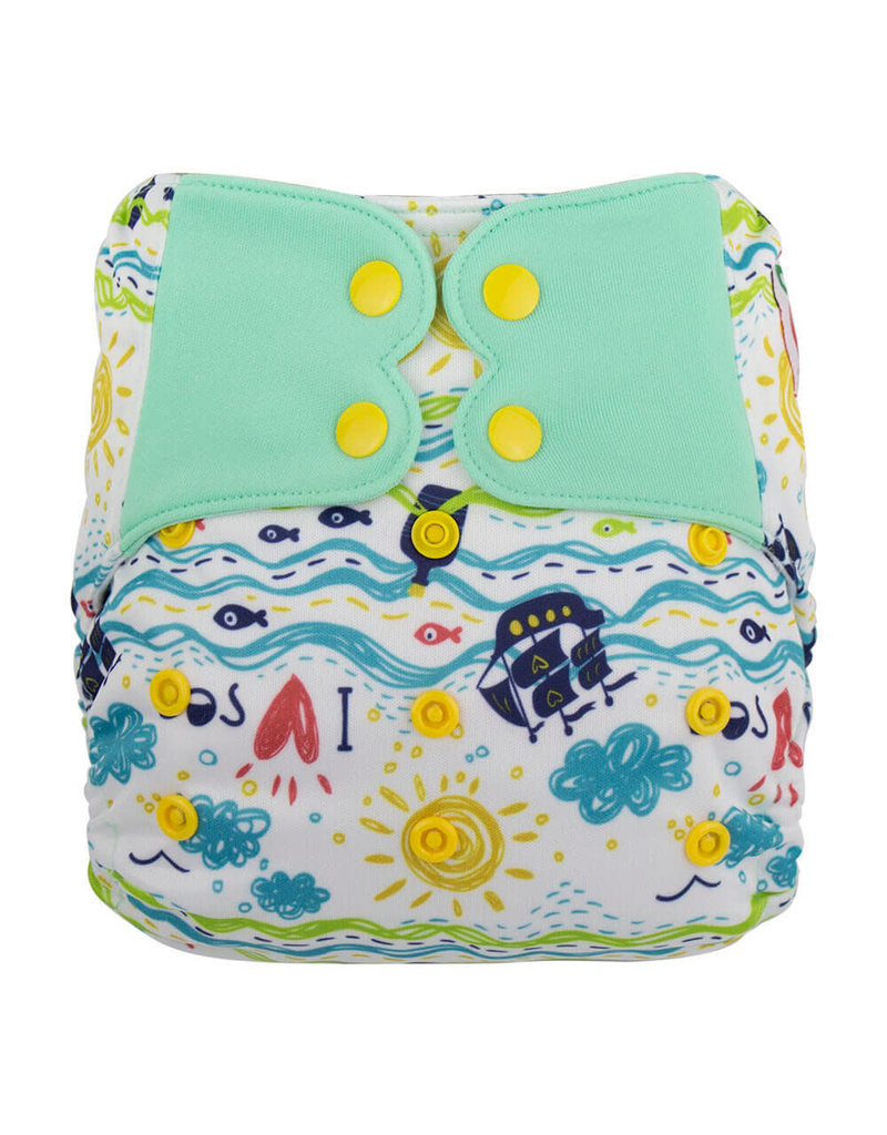All-in-One Diaper - A little Boat