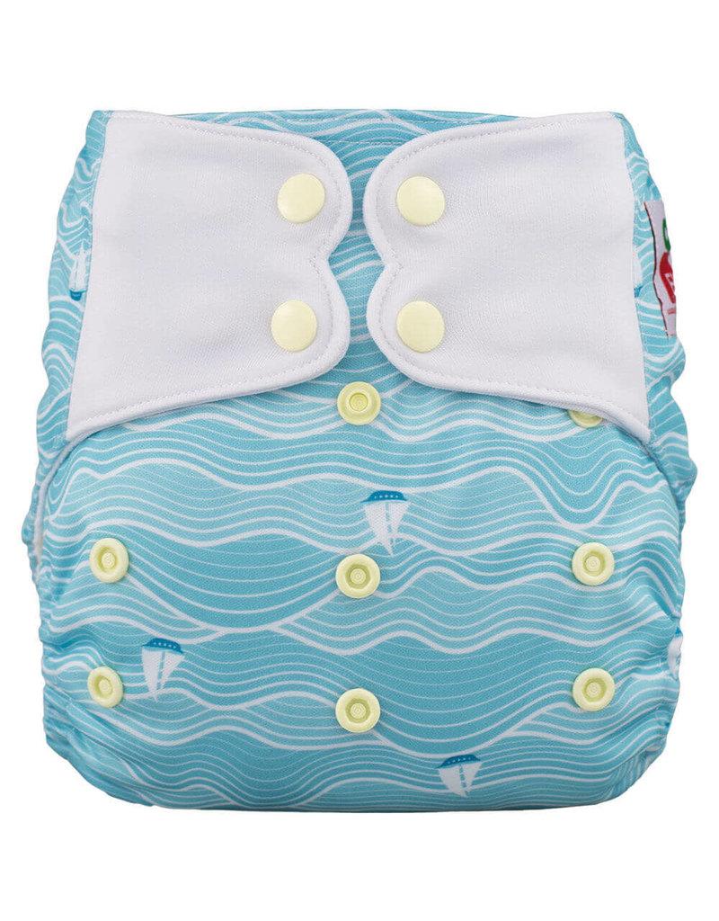 One-Sized Diaper Cover - Sea