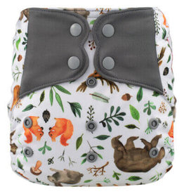 One-Sized Diaper Cover - Spring Bear
