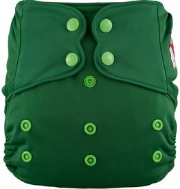 One-Sized Diaper Cover - Tree Green