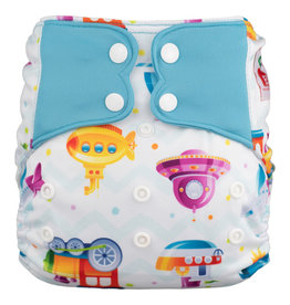 One-Sized Diaper Cover - Let's Go!