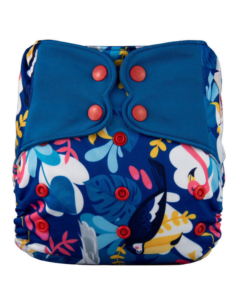 One-Sized Diaper Cover - Big Bird