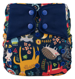 One-Sized Diaper Cover - Forest Friends