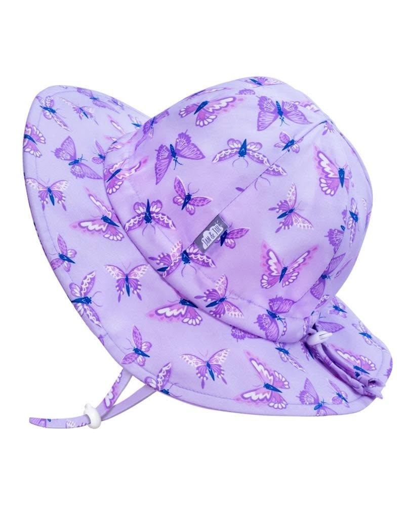 Jan & Jul Butterfly Gro-With-Me® Cotton Floppy Sun Hat