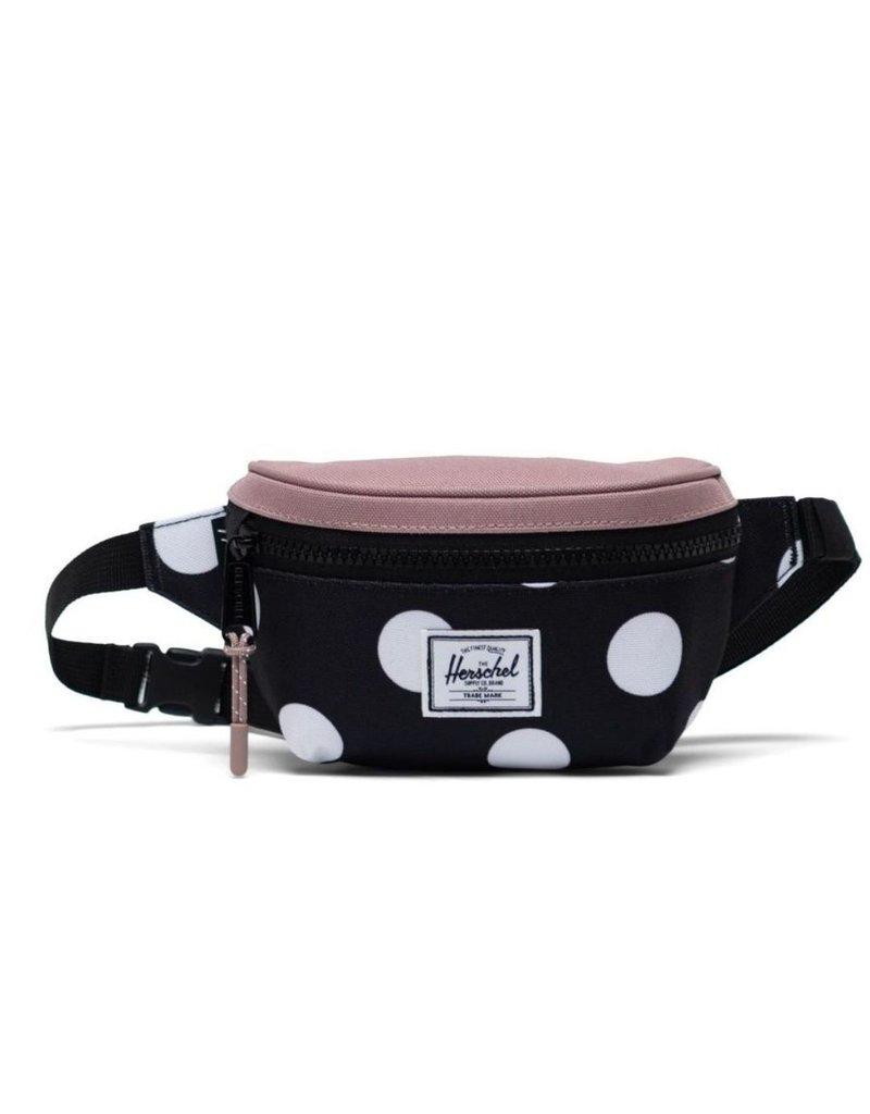 Herschel Twelve Hip Bag - Polka Dot/Ash Rose