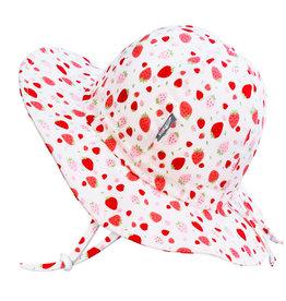 Jan & Jul Strawberry Gro-With-Me® Cotton Floppy Sun Hat