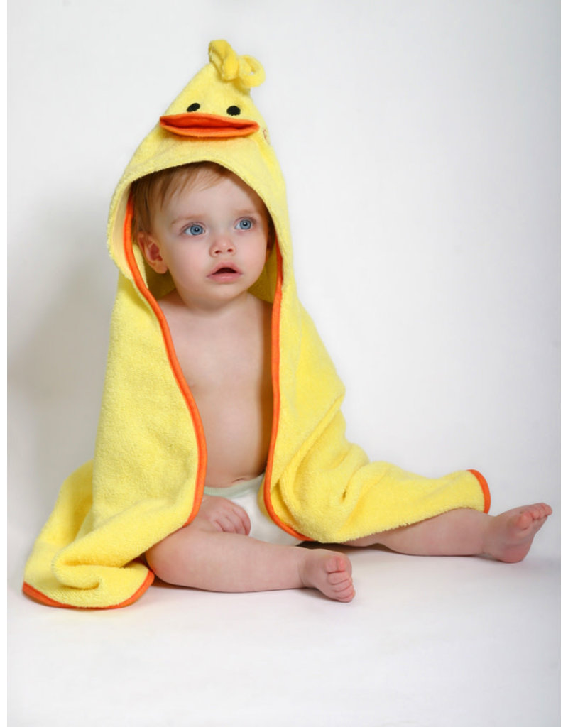 Zoocchini Zoocchini Baby Puddles the Duck Hooded Towel