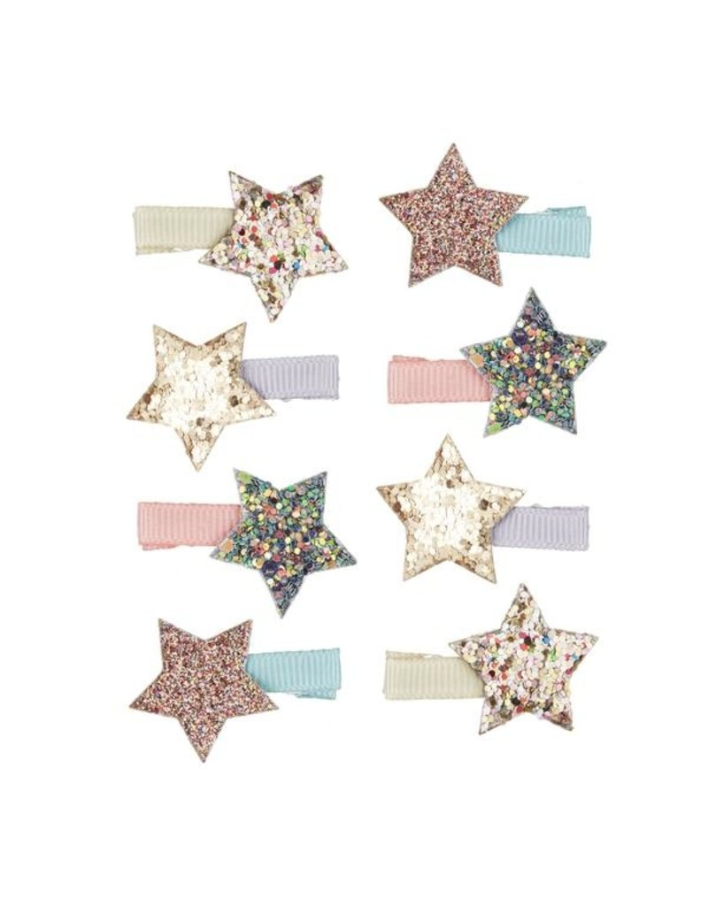 Rainbow Starlight Mini Clips 8pk