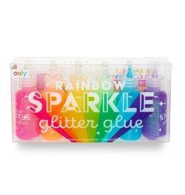 Ooly Rainbow Sparkle Glitter Glue - Set of 6