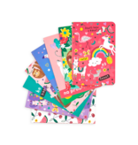 Ooly Funtastic Friends Pocket Pals Journals - Set of 8