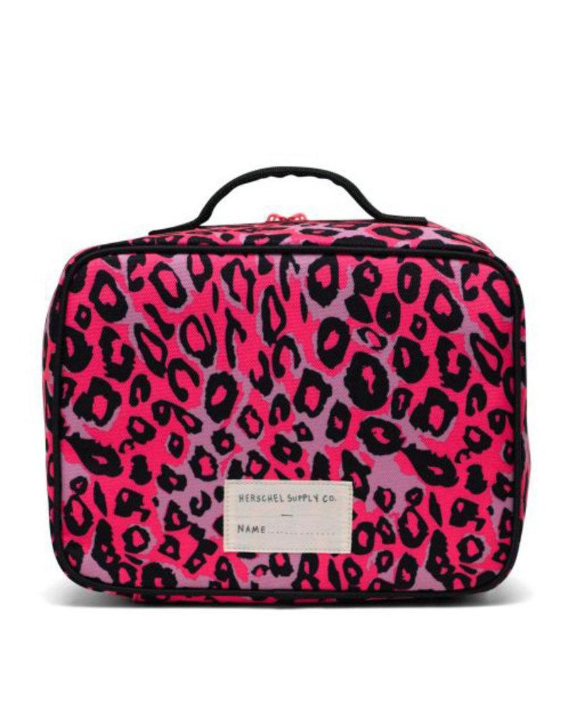 Herschel Pop Quiz Lunch Box - Cheetah Camo Neon
