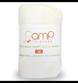 AMP Diapers Hemp Wipe 12pk