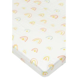 Kyte Baby Bamboo Crib Sheets - Rainbow Polka Dot