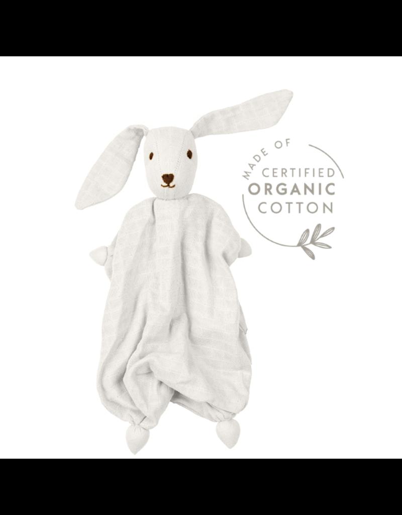 Peppa Hoppa Organic Muslin Tino, White