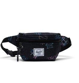 Herschel Twelve Hip Bag - Asphalt Chalk