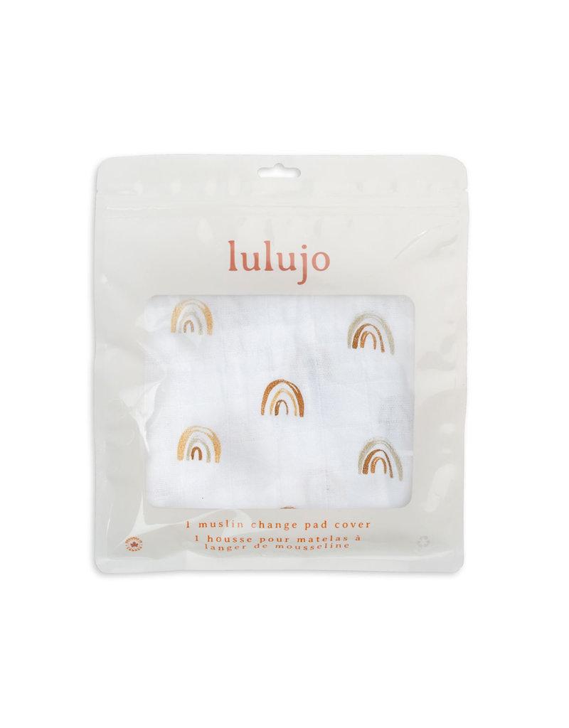 Lulujo Change Pad Cover - Rainbow