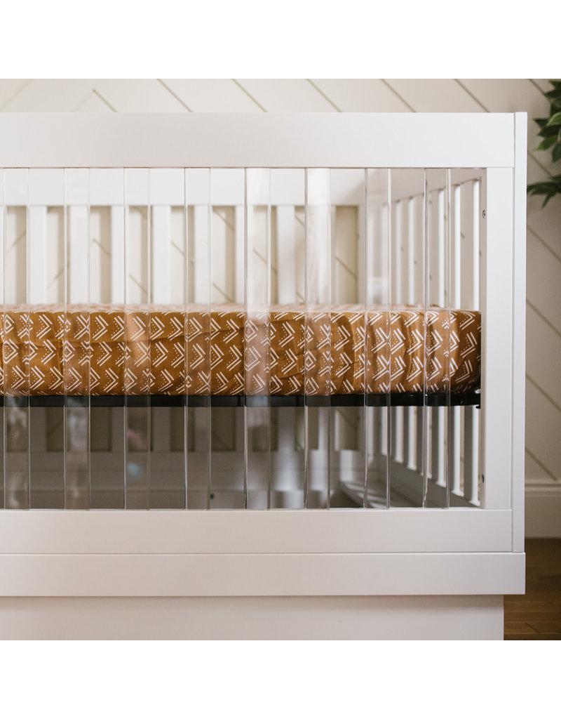 Lulujo Crib Sheet - Mudcloth