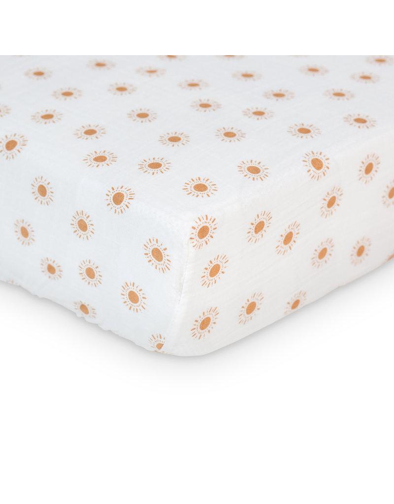 Lulujo Crib Sheet - Suns