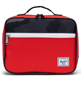 Herschel Pop Quiz Lunch Box - Fiery Red/Night Camo