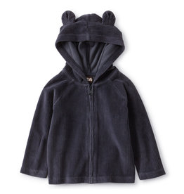 Tea Collection Bear Baby Zip Hoodie